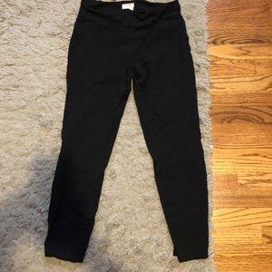 Black stretchy dress pants